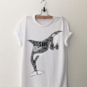 Save orcas killer whale Sea Panda shirt