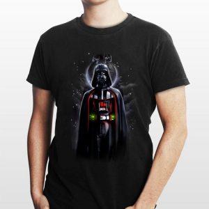Star Wars Darth Vader With Death Star Portrait shirt