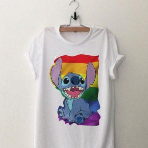 Stitch LGBT Pride shirt