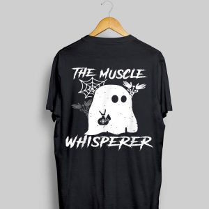The Muscle Whisperer Ghost Halloween shirt