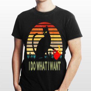 Vintage I Do What I Want Cat shirt