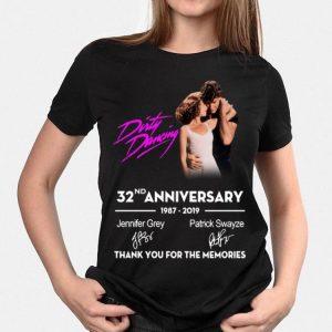 32nd Anniversary Dirty Dancing 1987-2019 Signatures shirt
