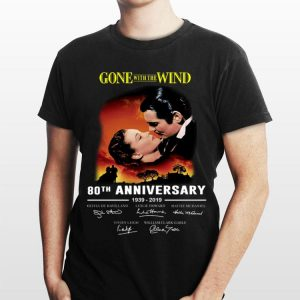 80th Gone With The Wind Anniversary 1939-2019 Signatures shirt