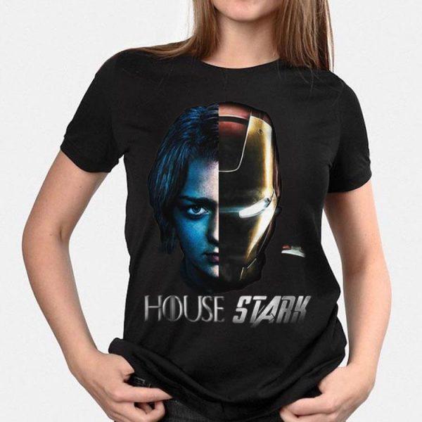 Arya Stark Iron Man Game Of Thrones House Stark shirt