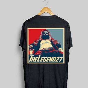Avenger Endgame Thor Fat The Legend 27 Vintage shirt