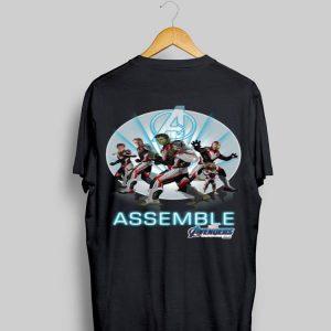 Avengers Endgame Superheroes New Costume Marvel Assemble shirt