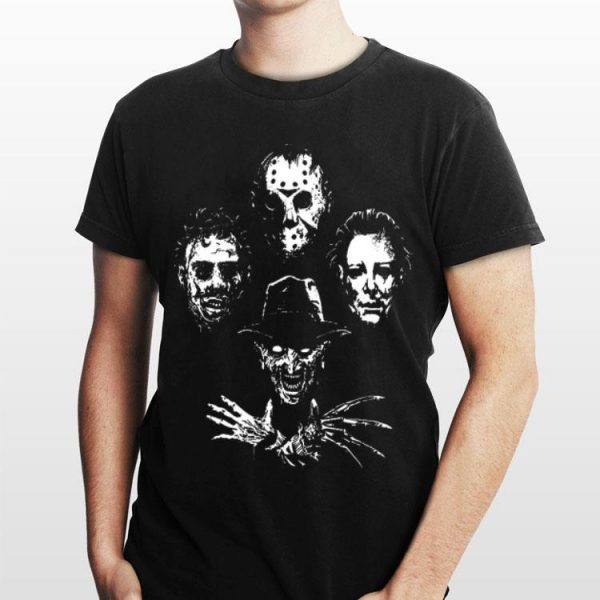 Boogeyman Rhapsody Horror Characters shirt