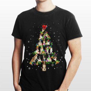 Border Collie Christmas Tree shirt