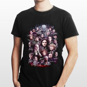 Characters Game Of Thrones Signatures shirt
