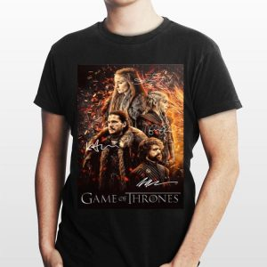 Daenerys Targaryen Melisandre Tyrion And Jon Snow GOT Signature shirt