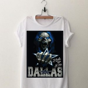 Dark Skulls Dallas Cowboys shirt