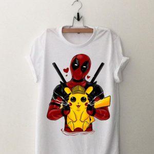 Deadpool and Detective Pikachu shirt