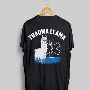 EMT Trauma Llama Apparel shirt