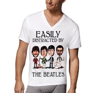Easily Distracted By The Beatles Let It Be shirt