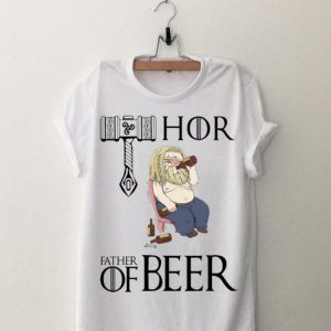 Fat Thor Father Of Beer Avengers Endgame shirt