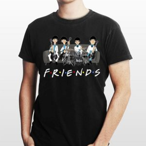 Friends TV Show The Beatles shirt