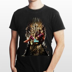 Game Of Thrones Iron Man Reading Book shirt