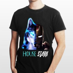 Game Of Thrones Iron Man wolf House Stark shirt