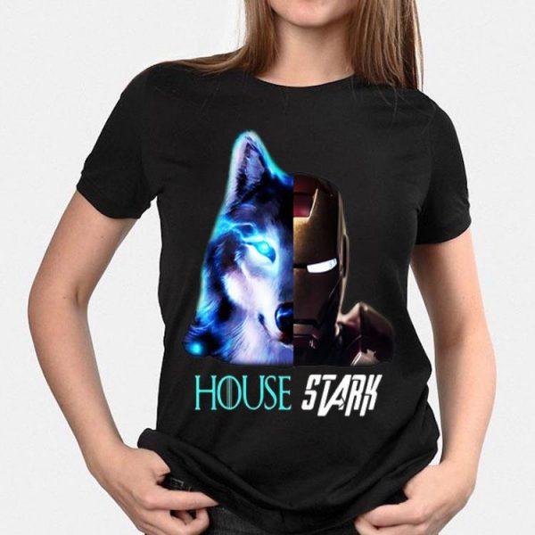 Game Of Thrones Iron Man wolf House Stark shirt
