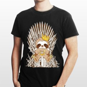 Game Of Thrones King Sloth shirt