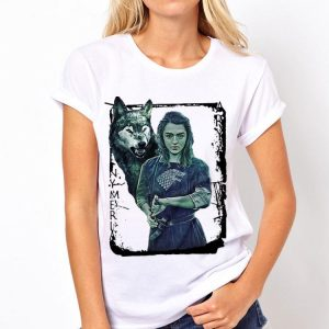Game Of Thrones Nymeria Arya Stark shirt