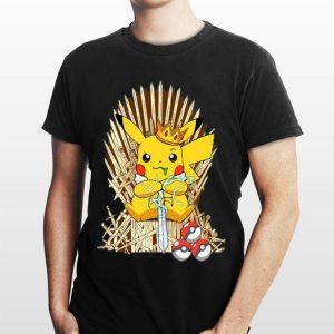 Game Of Thrones Pokemon Pikachu king shirt