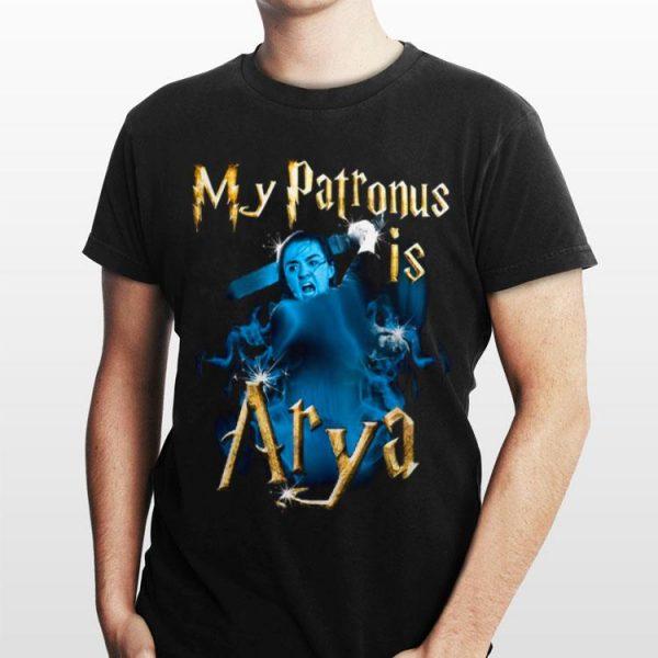 Game of Thrones My Patronis Is Arya Stark GOT shirt