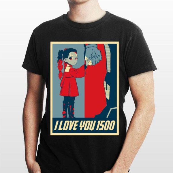 Gamora I Love You 1500 Thanos shirt