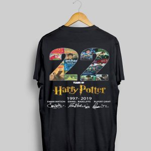 Harry Potter 22 Years 1997 - 2019 shirt