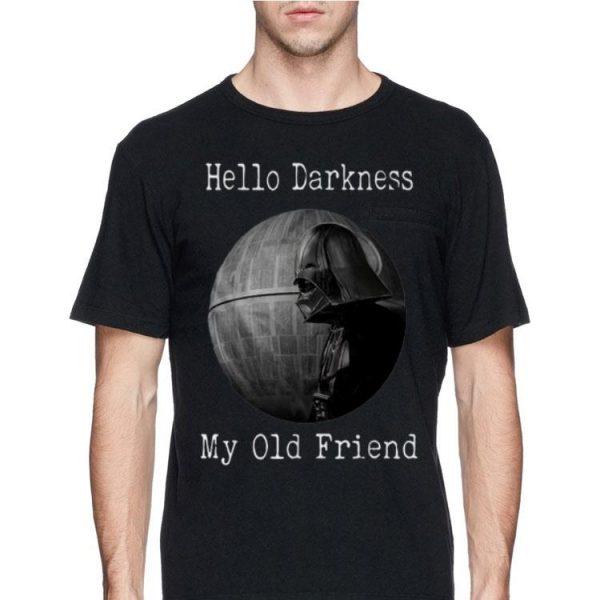 Hello Darkness My Old Friend Star Wars Darth Vader Death Star shirt