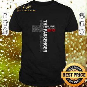 Hot Lyrics The Passenger 60 Years 1960-2020 Iggy Pop shirt