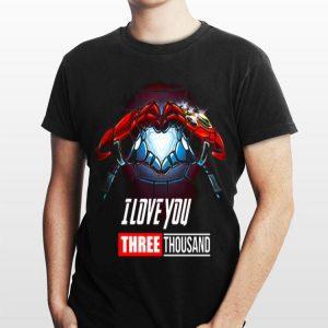 I Love You Three Thousand Iron Man Tony Stark shirt