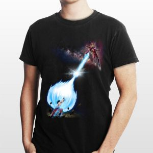 Iron Man Son Goku Kamehameha shirt