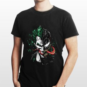 Joker Mashup Venom ha ha ha shirt