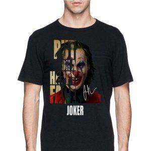 Joker Put On A Happy Face Signatures shirt