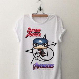 Marvel Avengers Endgame Captain America Chibi shirt