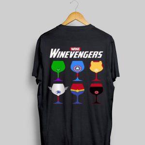 Marvel Wine Winevengers Avengers Endgame shirt