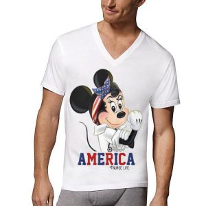 Minnie Mouse American Nurse Life shirt