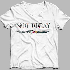 Floral Not Today Arya Stark Game Of Thrones shirt