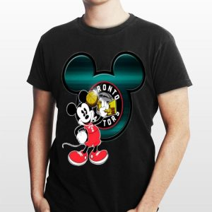 NBA Finals Champs 2019 Toronto Raptors Mickey Mouse shirt