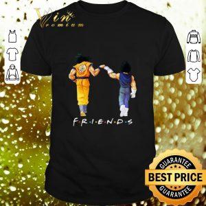 Official Friends Son Goku and Vegeta shirt
