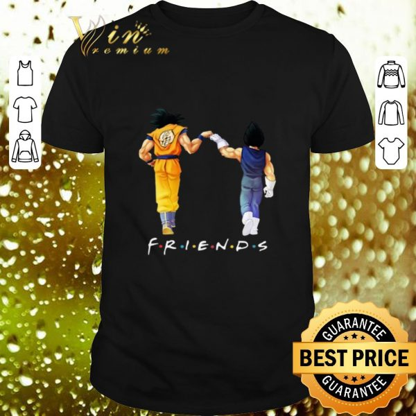 Official Friends Son Goku and Vegeta shirt