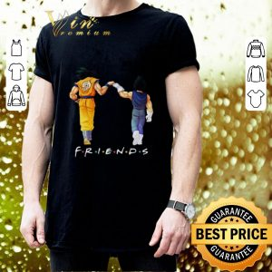 Official Friends Son Goku and Vegeta shirt 2