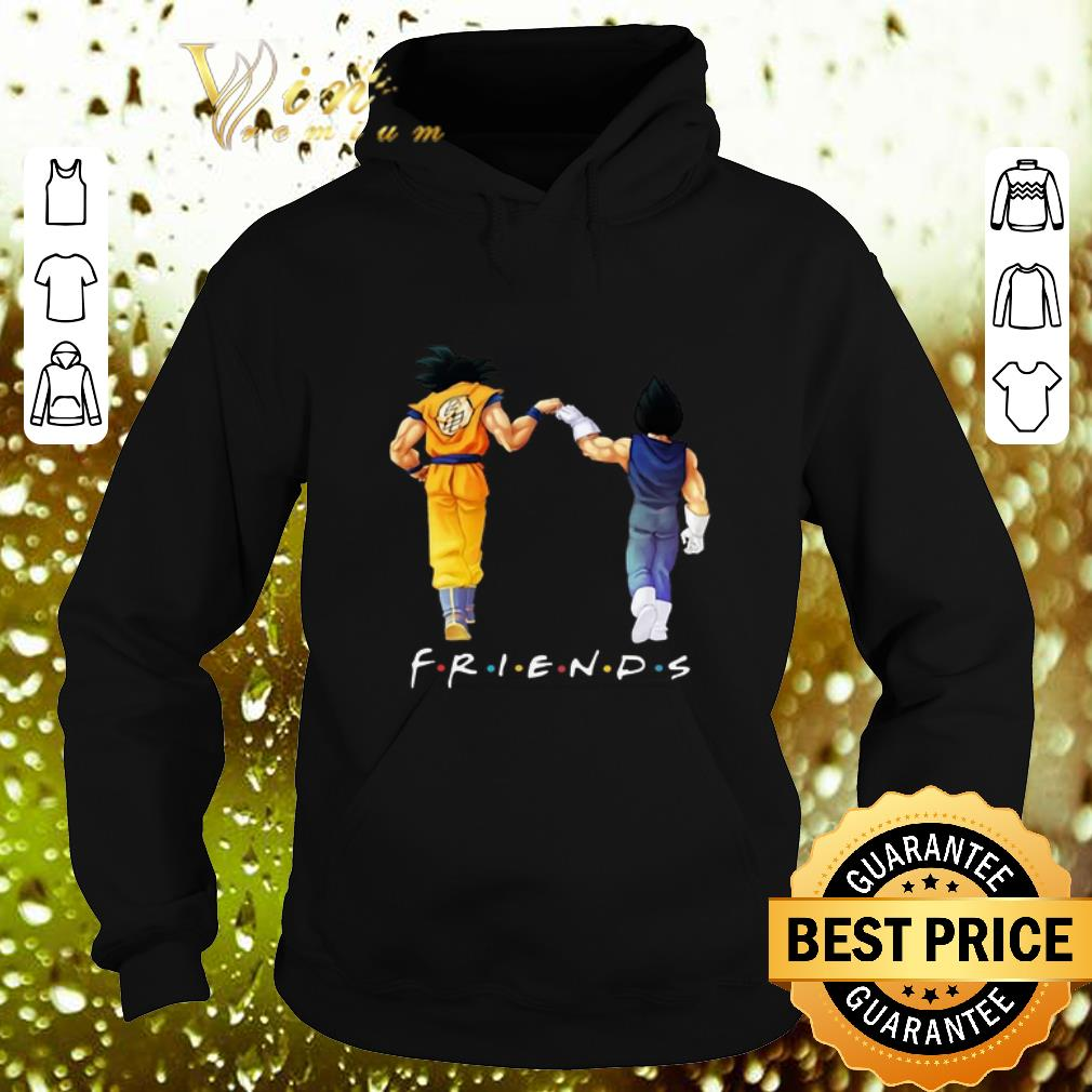 Official Friends Son Goku and Vegeta shirt 4 - Official Friends Son Goku and Vegeta shirt