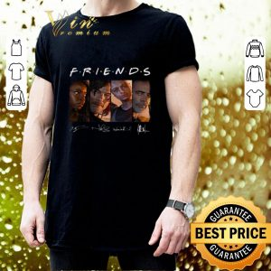 Official Friends The Walking Dead signatures shirt 2