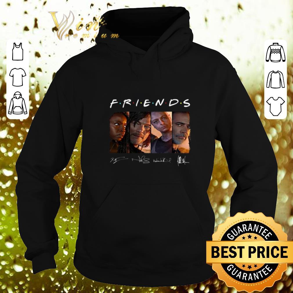 Official Friends The Walking Dead signatures shirt 4 - Official Friends The Walking Dead signatures shirt