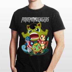 Pokemonvengers Marvel Avengers Endgame shirt