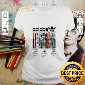 Pretty adidas all day i dream about Longmire signatures vintage shirt