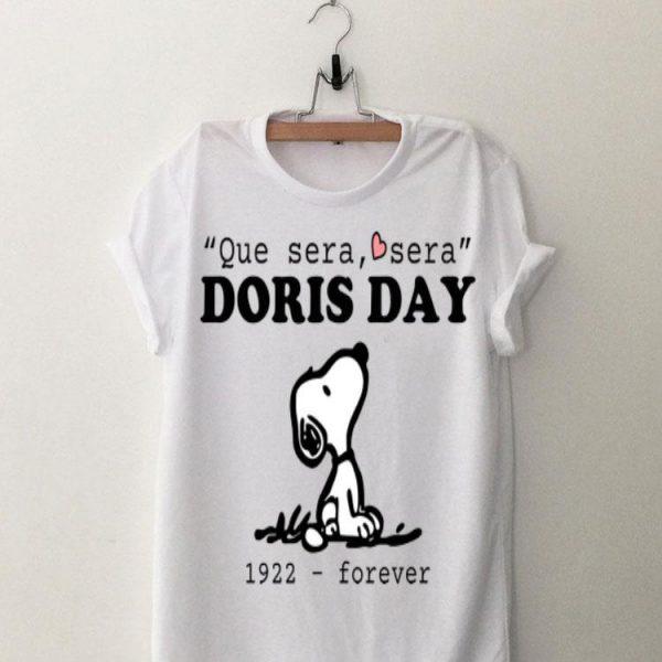 Que Sera Sera Doris Day 1922 Forever Snoopy shirt