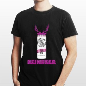 Reinbeer Christmas White Claw Black Cherry Sparkling shirt